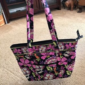 Vera tote - used once, like new condition